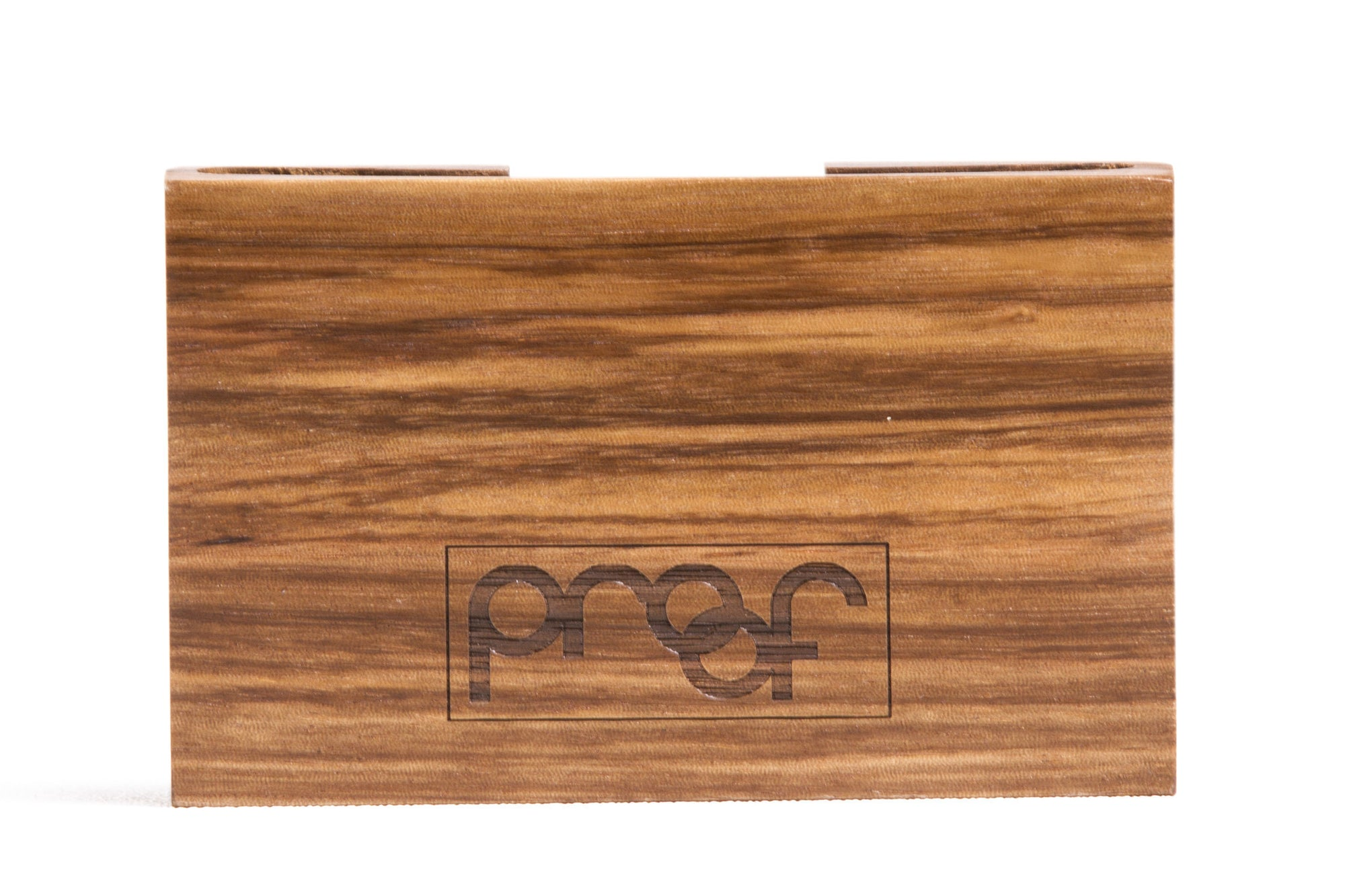 Proof Block Wood Wallet - humanity : style with a conscience