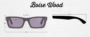 Boise Wood Prescription Collection - humanity : style with a conscience