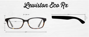 Lewiston Prescription Collection - humanity : style with a conscience