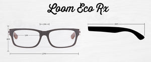Loom Prescription Collection - humanity : style with a conscience