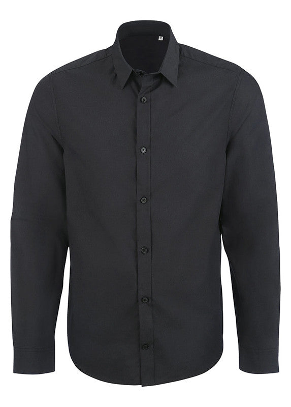 Ben Manages Business Shirt Black - humanity : style with a conscience