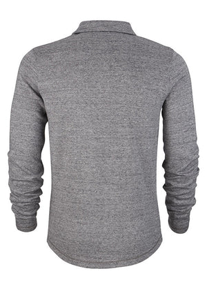 Humanity Ben Cosy Long Sleeve Polo - humanity : style with a conscience