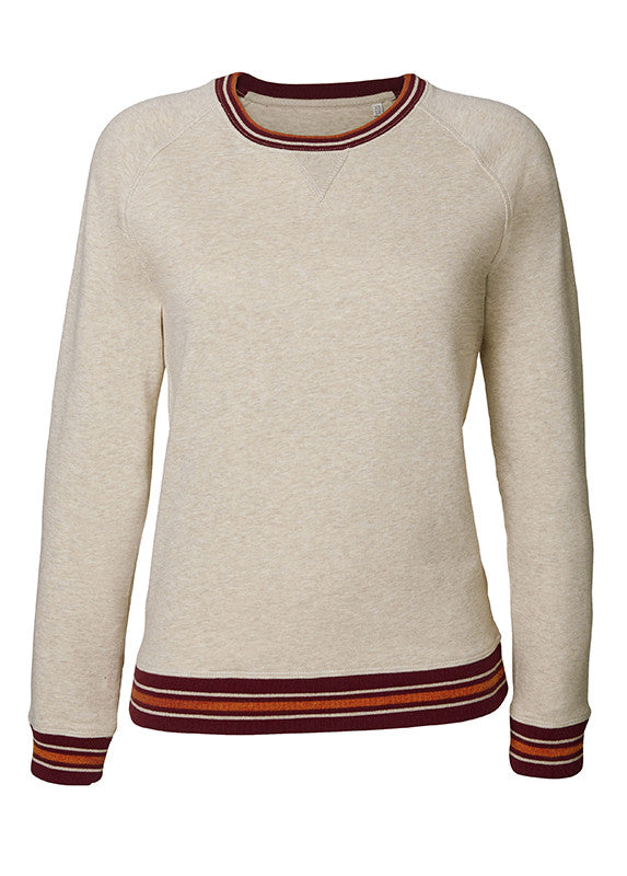 Humanity Ruby Dreams Tipped Sweatshirt - humanity : style with a conscience