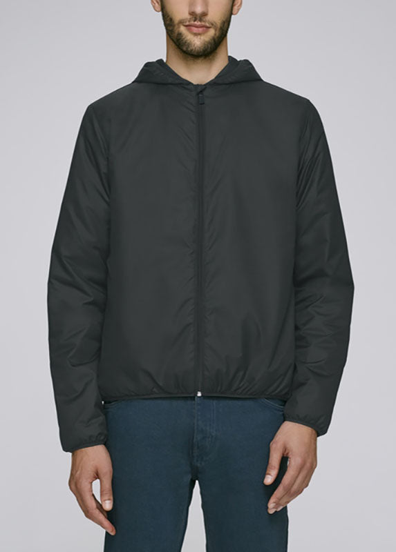 Humanity Charlie Padded Unisex Windbreaker - humanity : style with a conscience