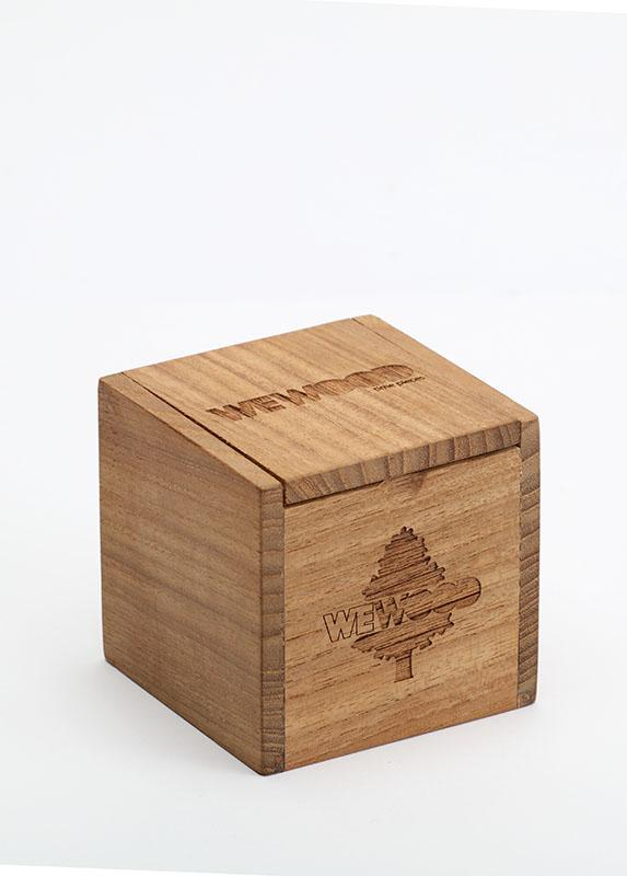 WeWOOD Wooden Packing Box - humanity : style with a conscience