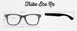 Tribe Black Clear Lens