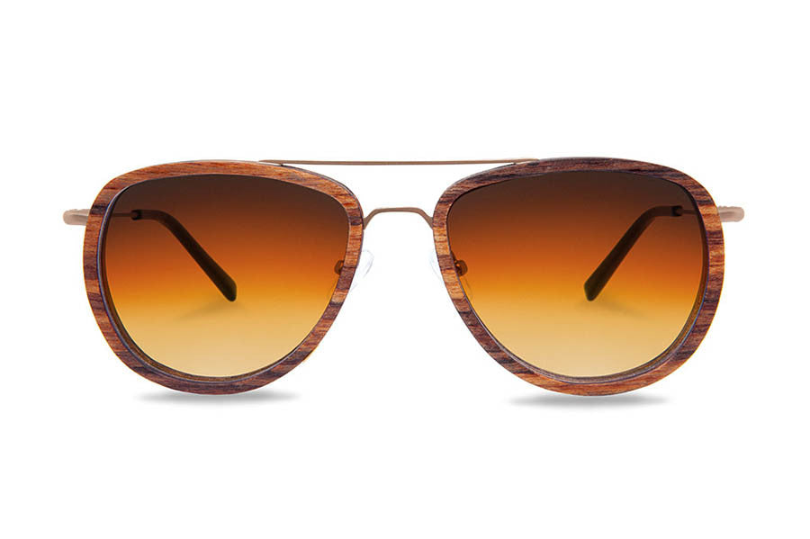KERBHOLZ Ferdinand Zebrano Sunglasses - humanity : style with a conscience