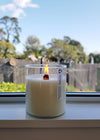 Lemongrass & Ginger - Large Wooden Wick
