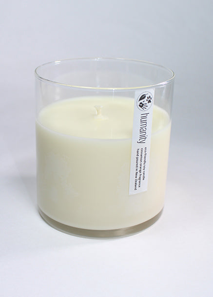 Fragrance Free - Large Cotton Wick Candle