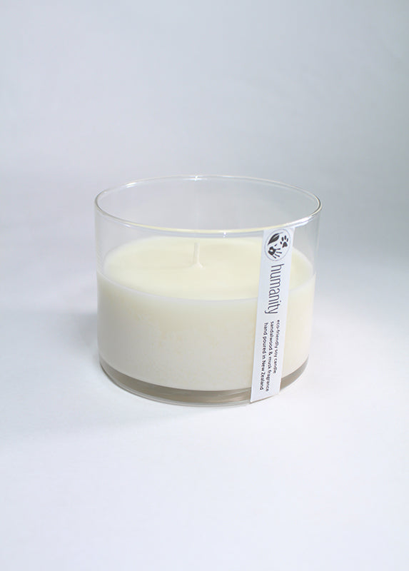 Sandalwood & Musk - Medium Cotton Wick Candle