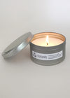 humanity soy candle - tin travel - humanity : style with a conscience