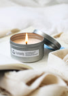 humanity soy candle - travel tin - humanity : style with a conscience