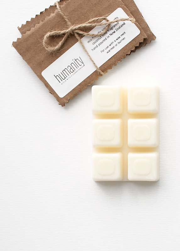 humanity Soy Wax Melts - Coconut Lime - humanity : style with a conscience