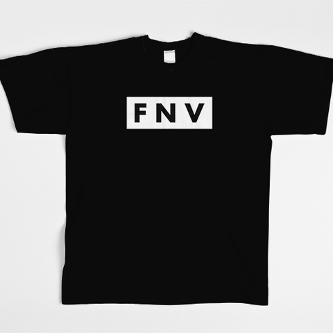 Men's Black FNV Tee