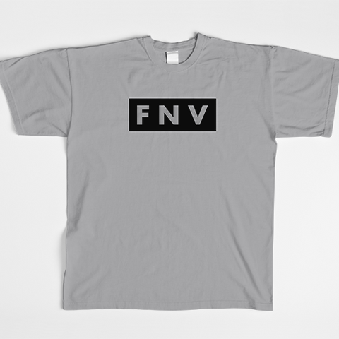 Women's Heather Grey FNV Tee