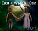 East + West = IQed