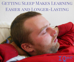 Sleep Makes Learning Easier and Longer-Lasting