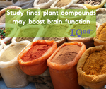 Study finds plant compounds found to boost cognition