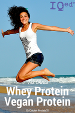 Whey Protein Or Vegan Protein Or...
