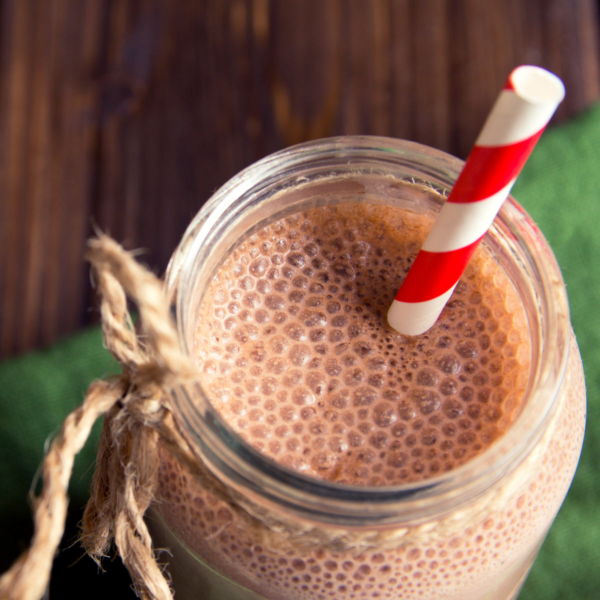 Healthy Chocolate Protein Shake