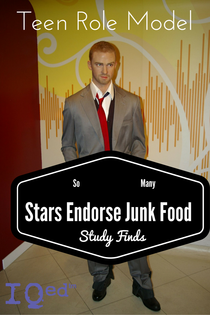 Entertainers Endorse Junk Food, Study Finds