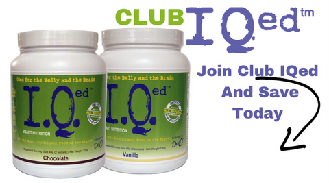 Join Club IQed And Save