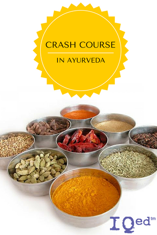 crash course in ayurveda