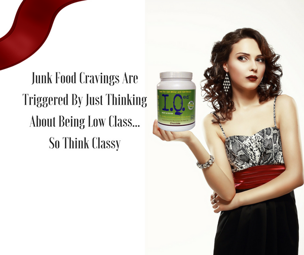 Study: Junk Food Cravings Are Triggered By Just Thinking About Being Low Class -So Think Classy
