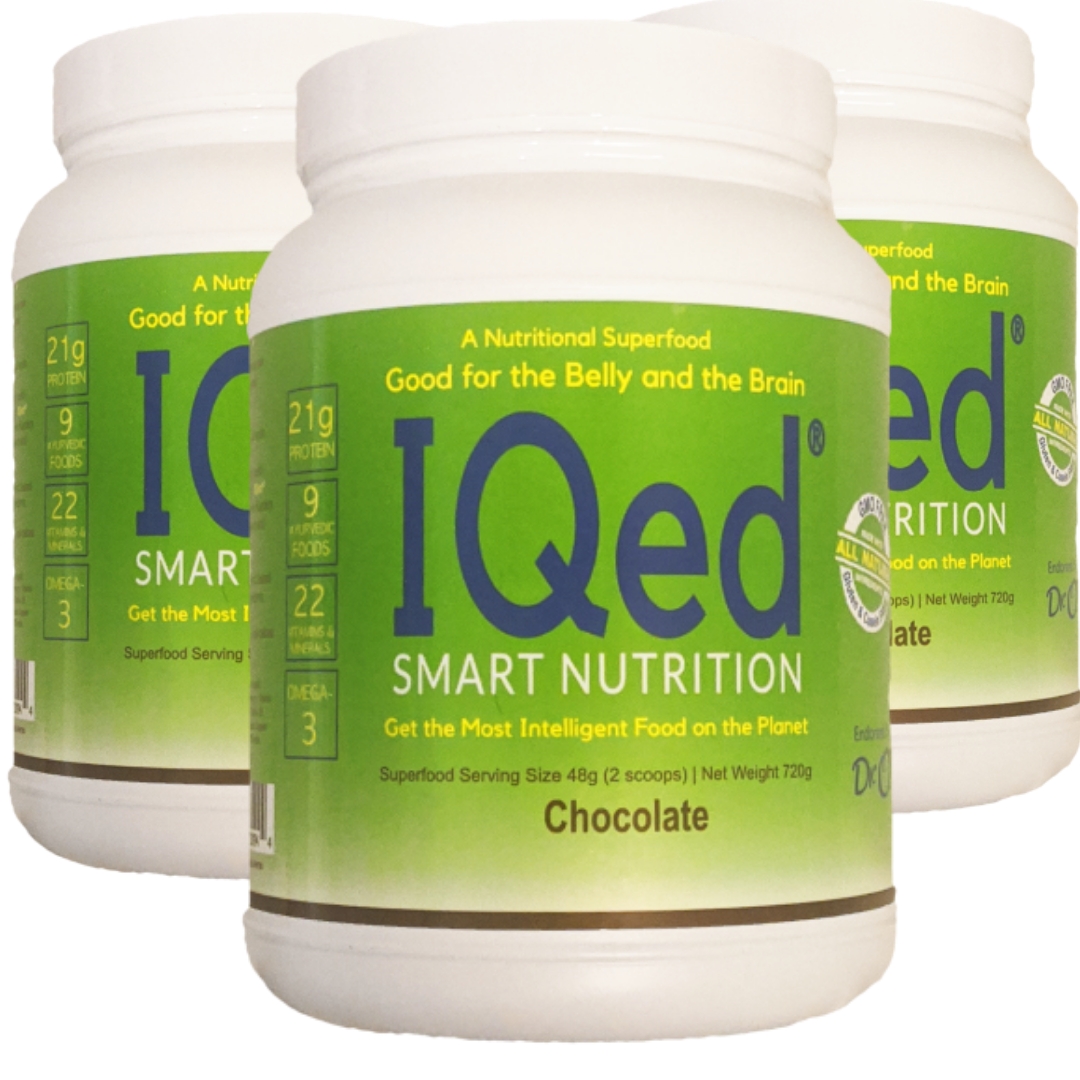 IQed Smart Nutrition (3 canisters) Special