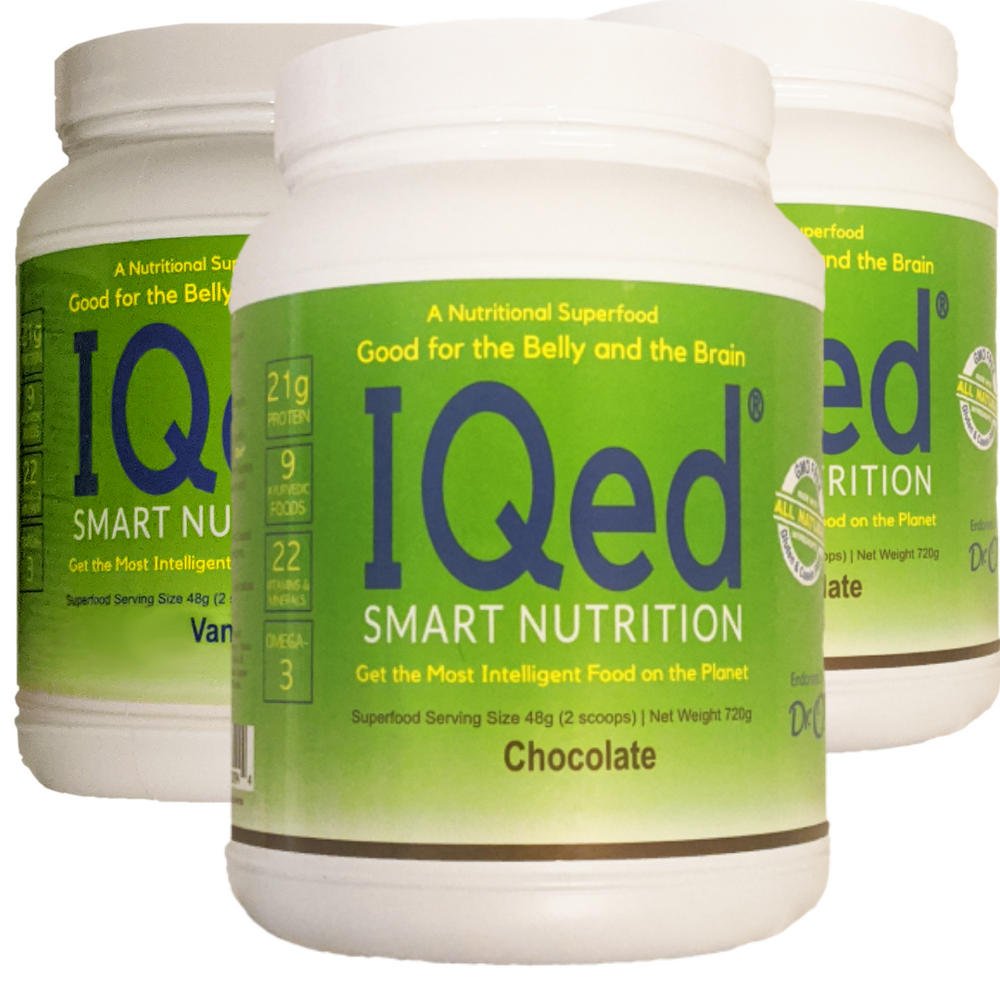 IQed Smart Nutrition (3 canisters)