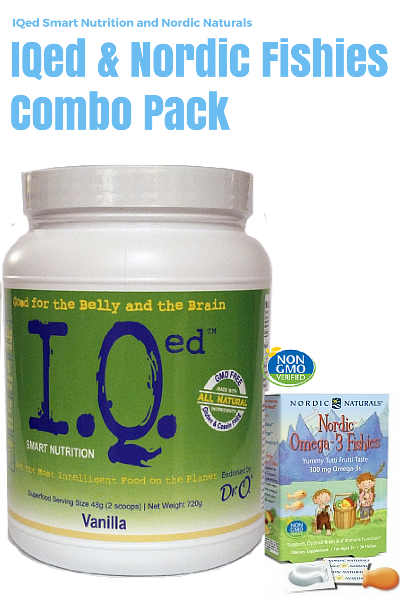 IQed and Nordic Naturals Nordic Omega-3 Fishies