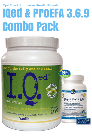 IQed and Nordic Naturals NN ProEFA 3.6.9