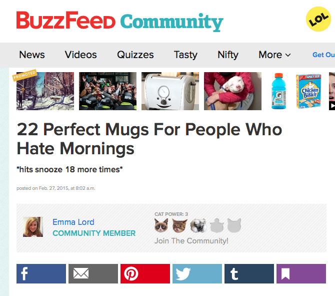 Most Toasty Grumpy Coffee Mug on BuzzFeed