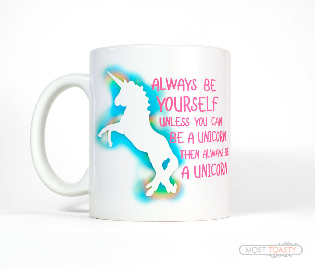 Cute and Funny Unicorn Coffee Mug