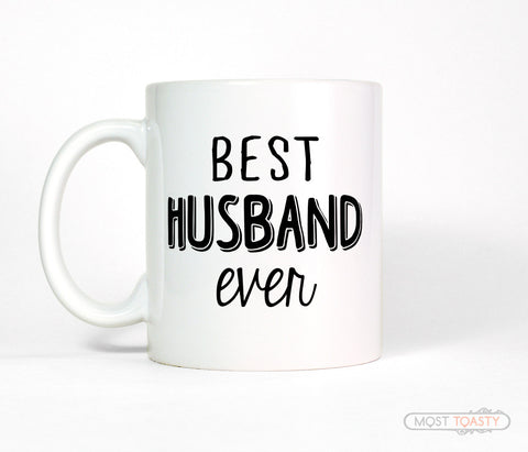 Best Husband Ever Ceramic Coffee Mug