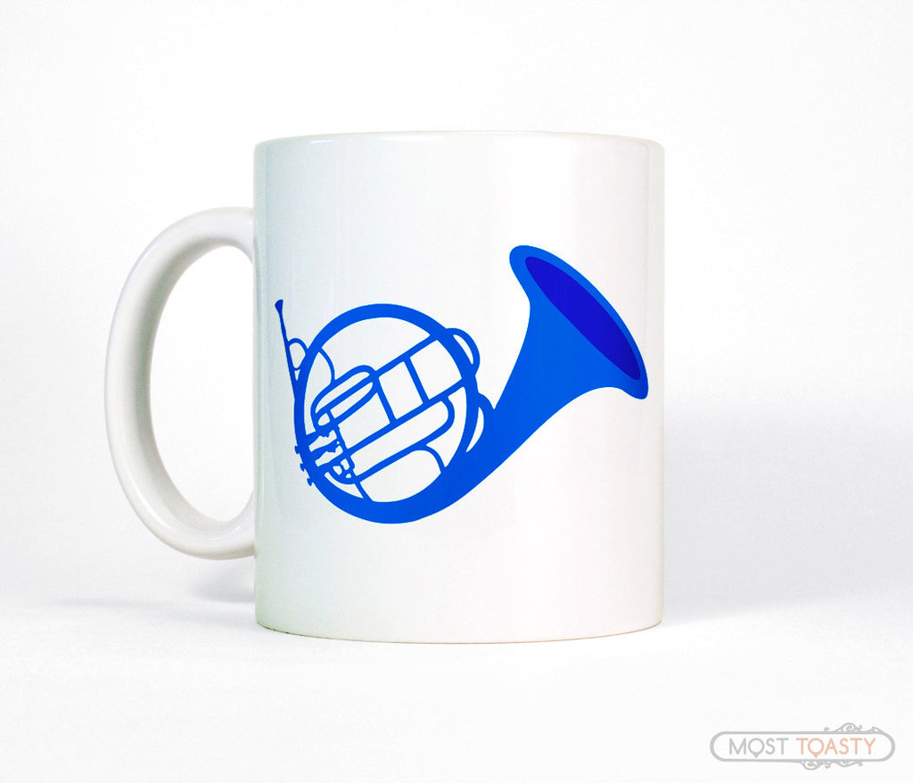 Blue French Horn How I Met Your Mother fan Coffee Mug