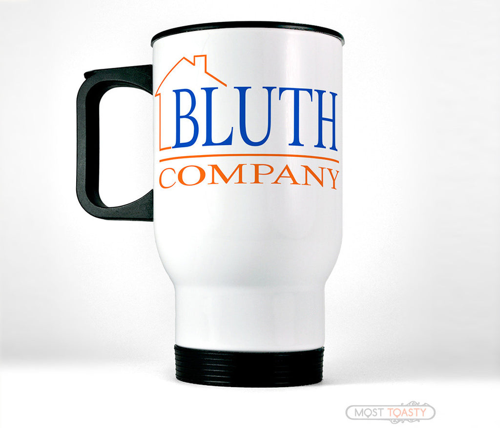 Bluth Company Stainless Travel Cup, Arrested Development fan Mug