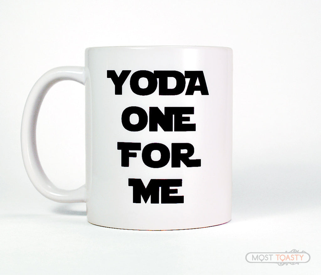 Yoda One For Me Coffee Cup, Star Wars Fan Mug