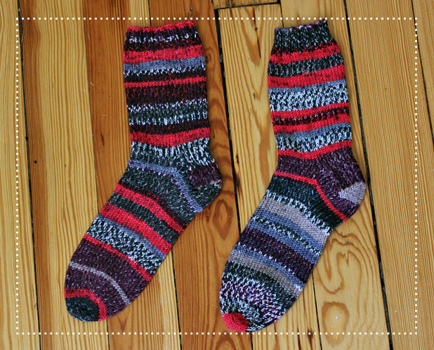 Basic Socks with Schoppel Wolle Ambiente