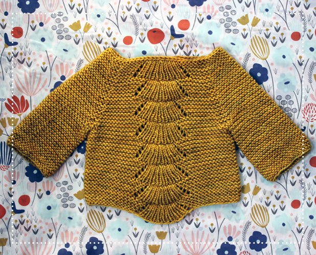 Camilla Babe Sweater in Madelinetosh Tosh Vintage