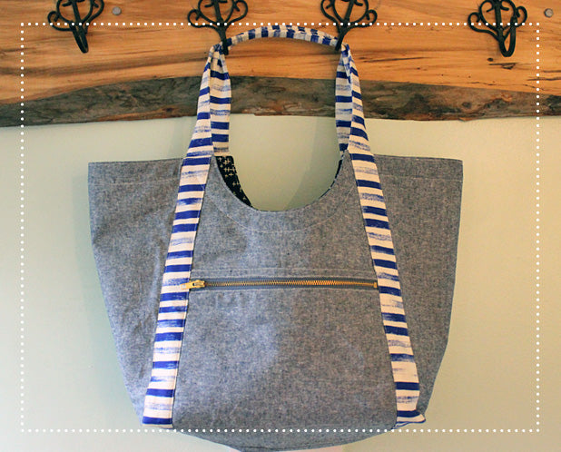 Poolside Tote Sewing Pattern