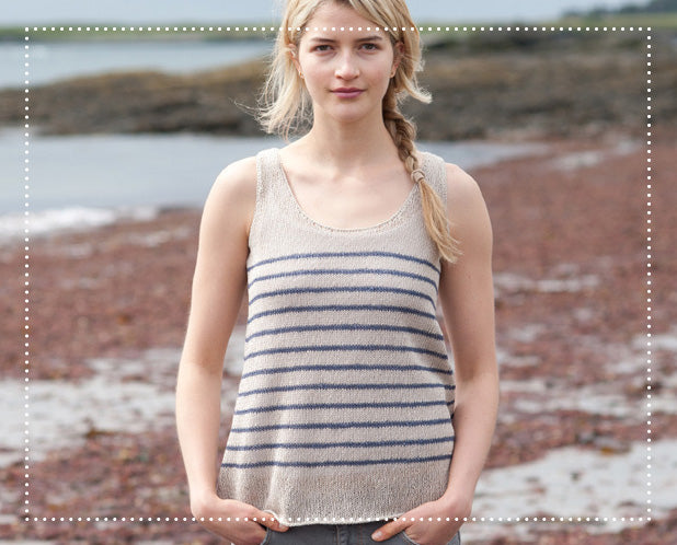Saco Stripes Knitting Pattern