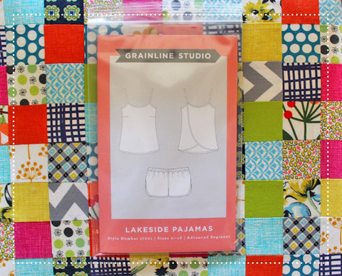 Grainline Studio Lakeside Pajamas Sewing Pattern