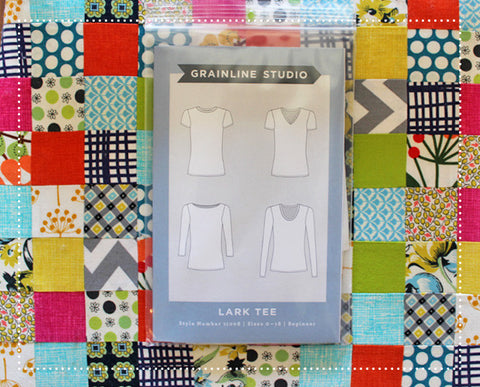 Grainline Studio Lark Tee Sewing Pattern