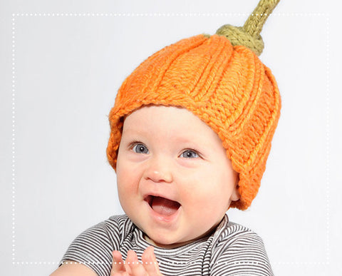 Sweetie Pumpkin Pie Hat Knit Kit
