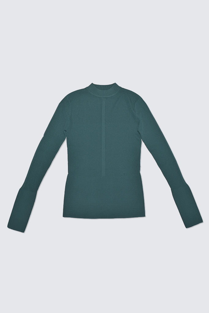 Kloke - Blend Mock Neck Top Teal