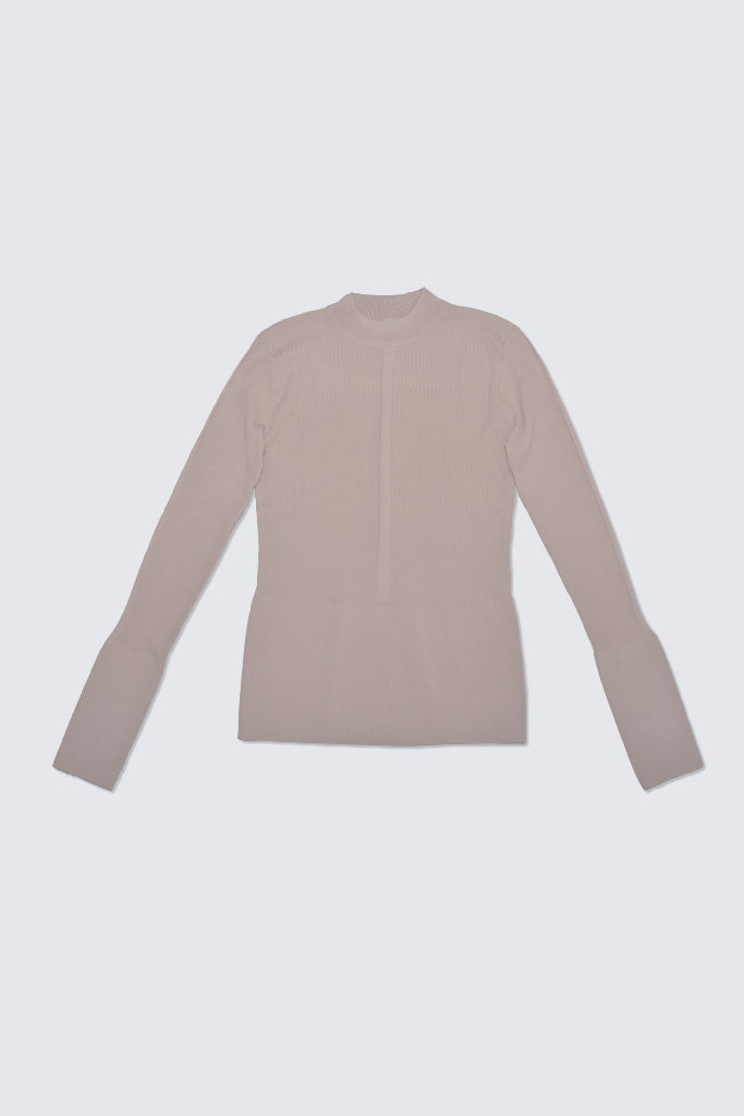 Kloke - Blend Mock Neck Top Birch