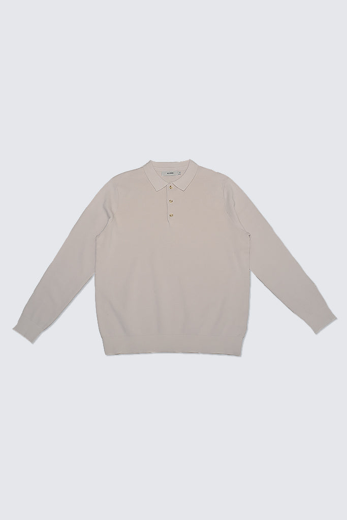 Kloke - Affinity Collared Pullover Birch