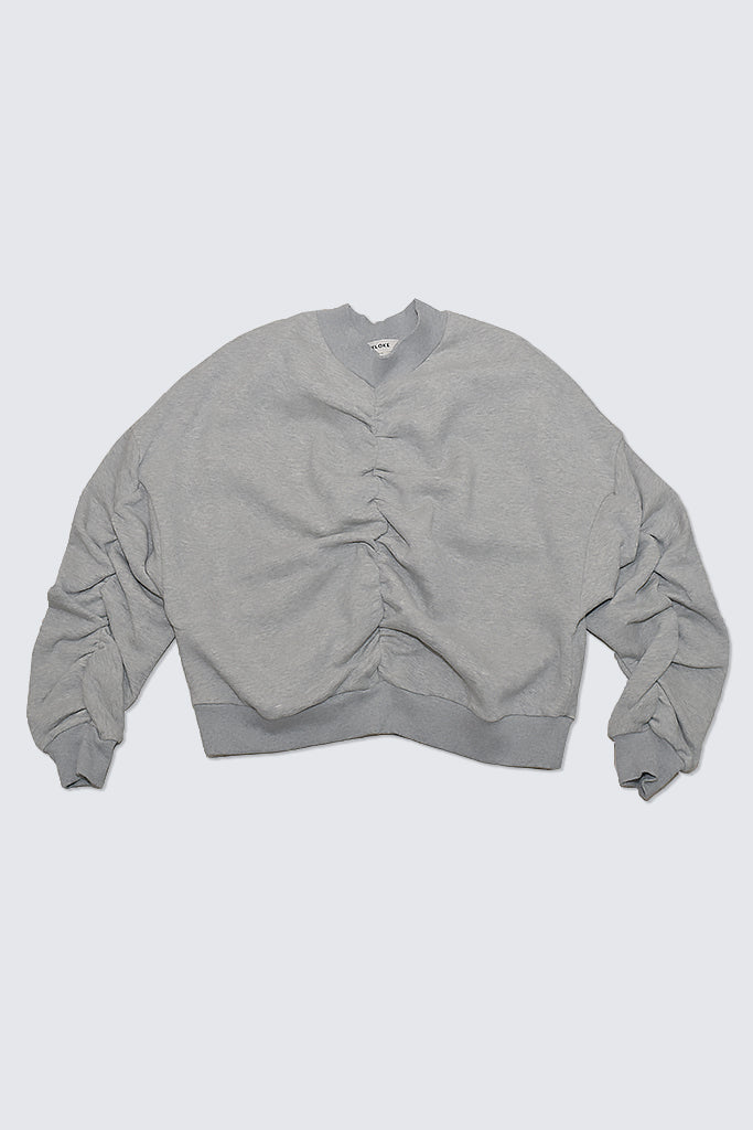 Kloke - Fuse Rushed Sweat Grey Marle