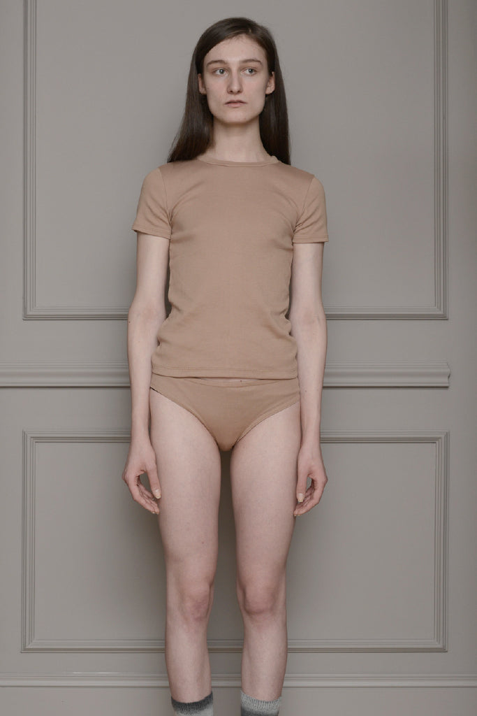 By Signe - Basic Tee Camel